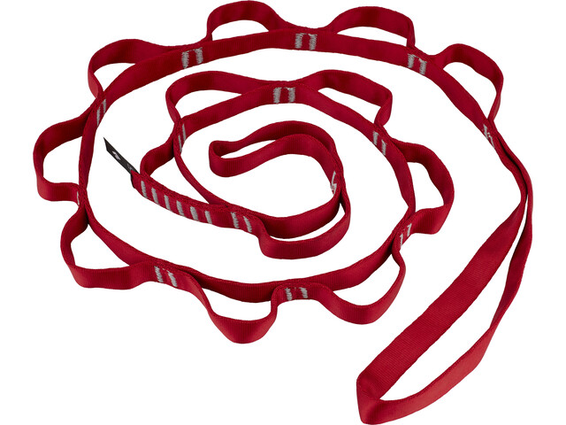 Black Diamond Nylon Daisy Chain 140cm / 18mm red